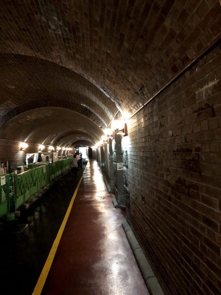 東京駅の地下通路